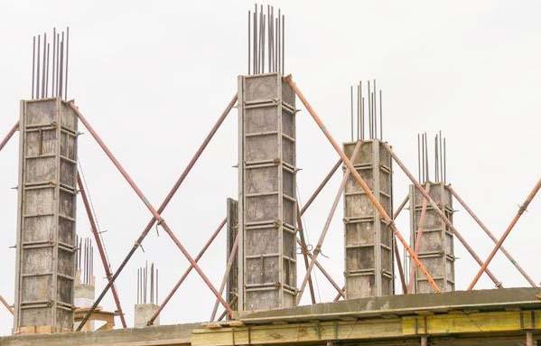 优质胶合建筑板在工地使用情况
