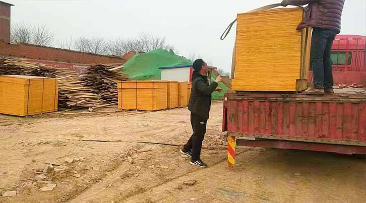 优质清水建筑工地用模板厂家供应