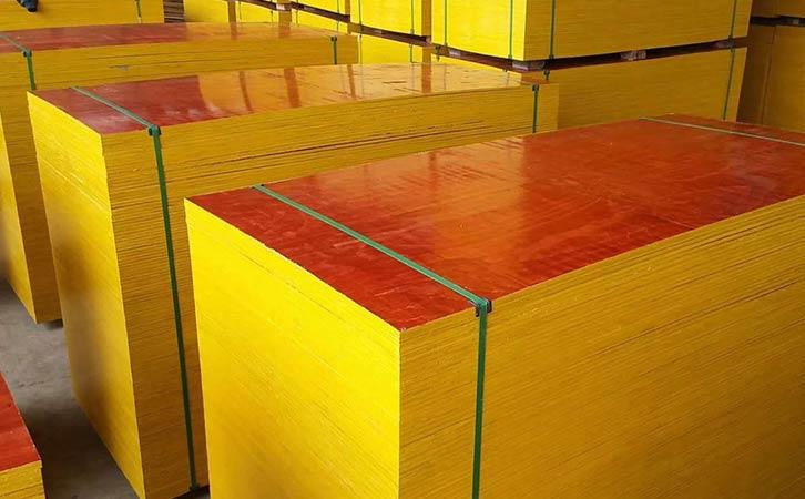 雨天施工也不怕的鑫虹泰建筑模板