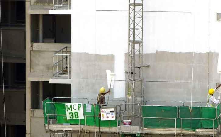 控制措施根据不同的施工现场条件