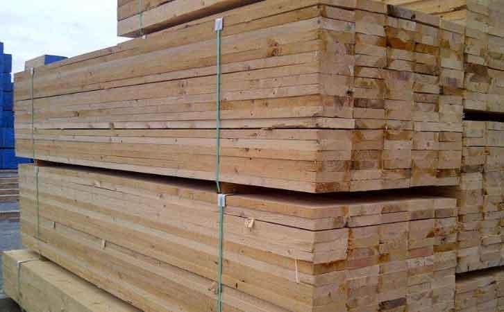 铁杉建筑工程木方的材性好